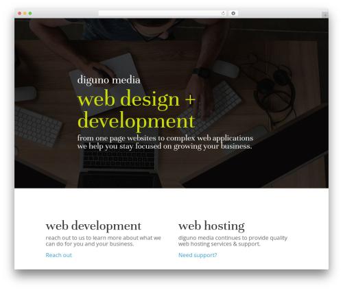 Theme WordPress Divi - diguno.com