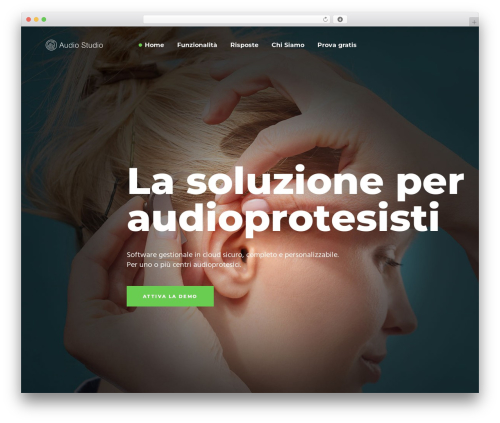 WordPress theme Synergia - audiostudio.it