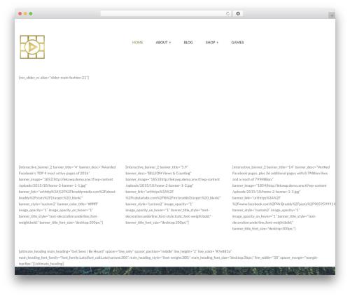 ARW Leka WordPress theme - braddymedia.com