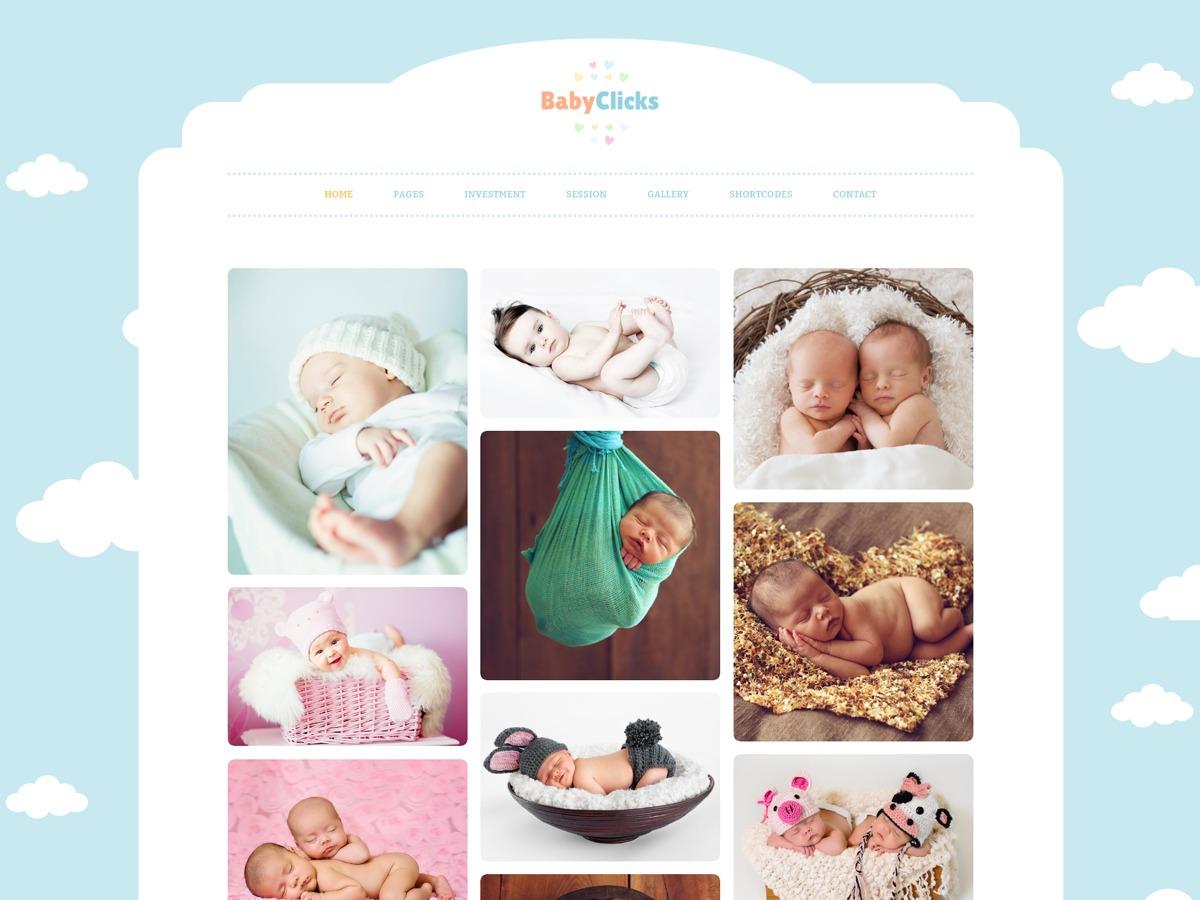Baby Photography Child best WordPress gallery