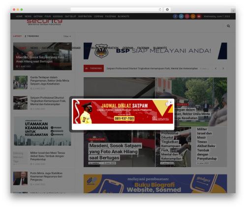 Best WordPress theme JNews - jurnalsecurity.com