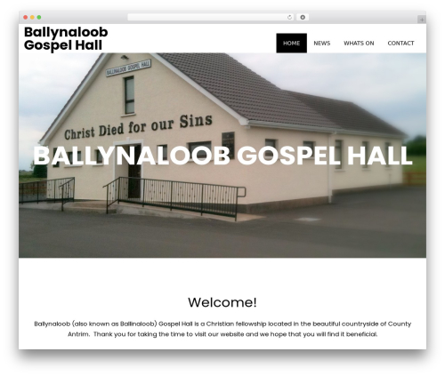 Book Club theme WordPress - ballynaloobgospelhall.org