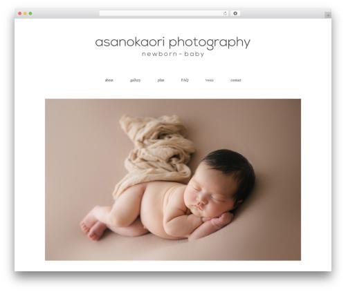 Flora deux top WordPress theme - newbornphoto-okayama.com