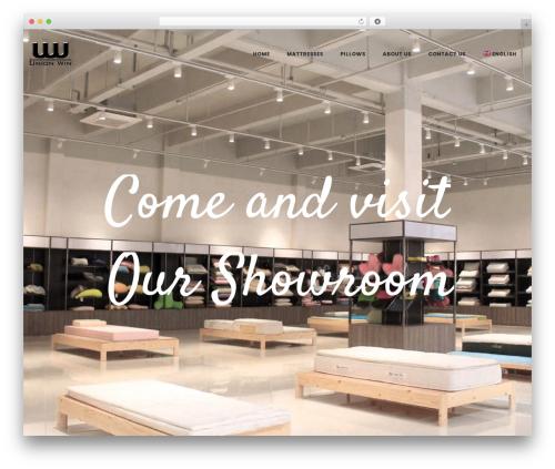 LA Zyra WordPress theme design - unionwin.net