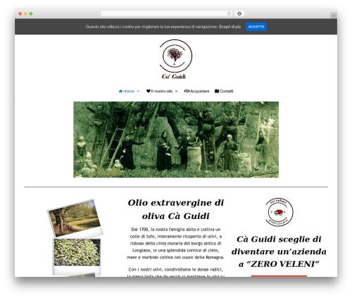 neve WordPress theme - caguidi.com
