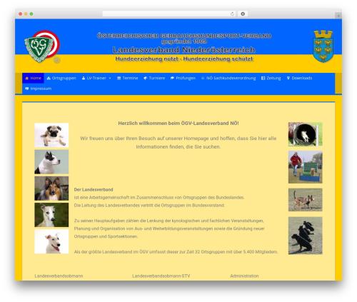 Free WordPress Companion Sitemap Generator plugin - oegv-noe.at