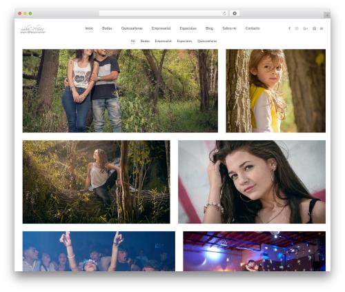 WordPress template Pinhole - sebaflores.com