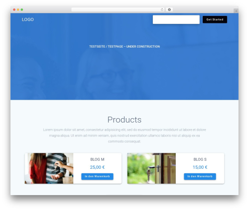 WordPress theme Materialis PRO - bajanized.com