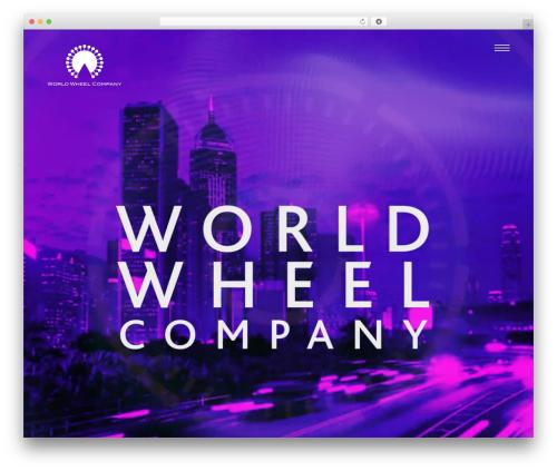 WWC WP theme - world-wheel-company.com