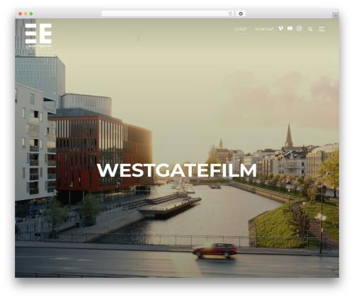 Best WordPress template Inspiro - westgatefilm.se