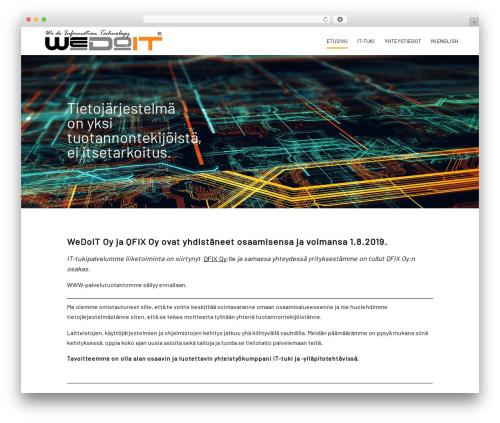 Divi WP template - wedoit.fi
