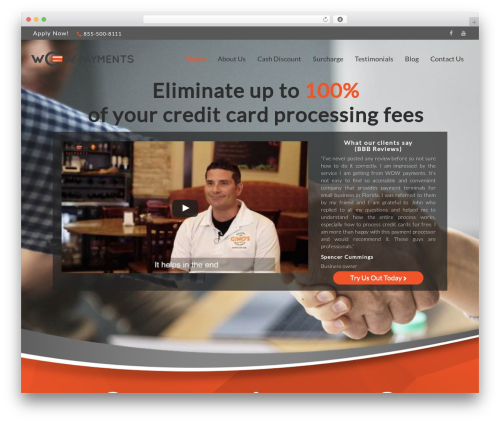 edsbootstrap free WP theme - wowpayments.com