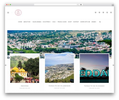 Malina WordPress theme - nadaalnahdi.com