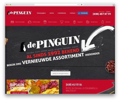 Pizzaro WordPress hotel theme - pinguinzwolle.nl