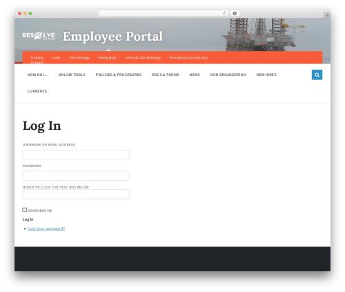Pressville theme WordPress - resolvemarineportal.com