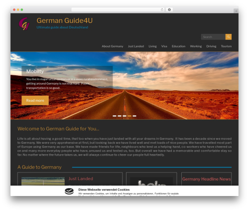 Free WordPress Slick Sitemap plugin - germanguide4u.com