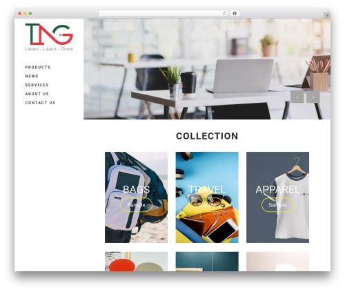 Stockholm WordPress theme - tngifts.net