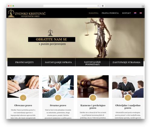 Veda best WordPress theme - odvjetnik-kristovic-dubrovnik.hr