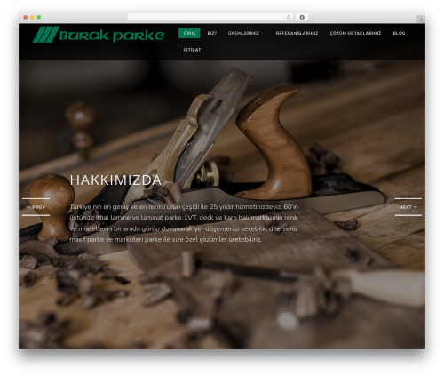 Vivian WordPress theme - burakparke.net