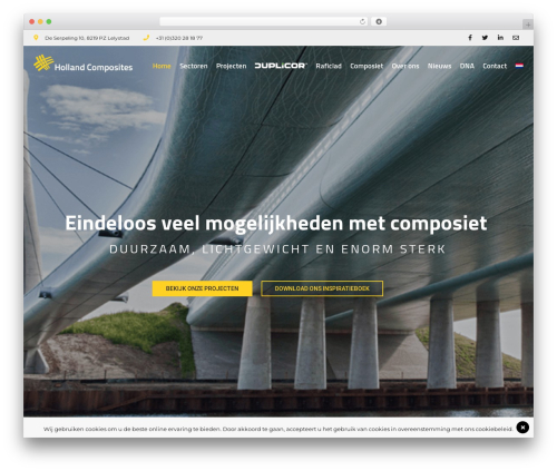 WP template BuildPro - hollandcomposites.nl