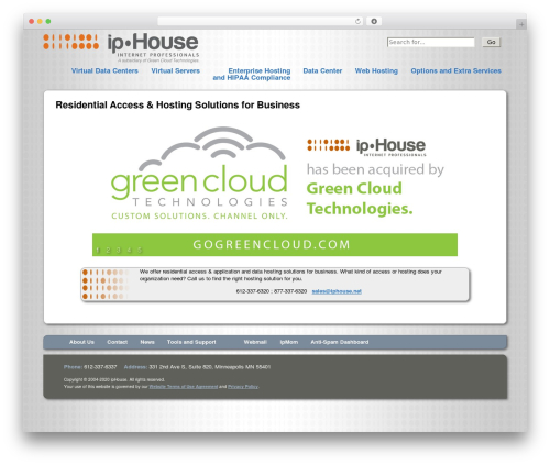 ipHouse Olympus WordPress template for business - cefctoday.com