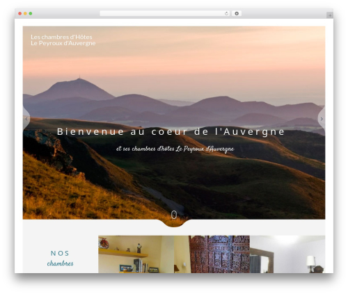 Narcos WordPress theme - chambresdhoteslepeyrouxdauvergne.com