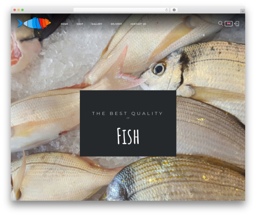 Niku WordPress website template - cretefishing.com