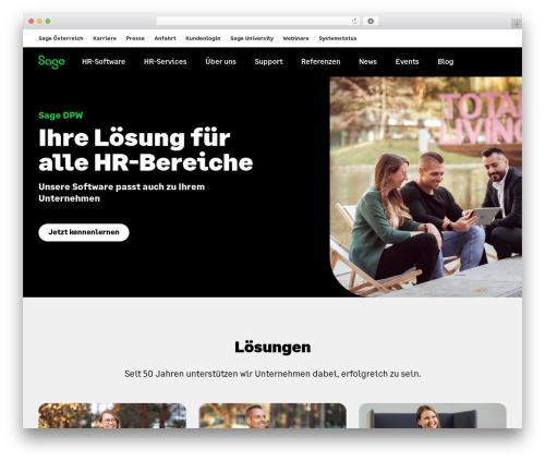Sage DPW premium WordPress theme - dpw.at