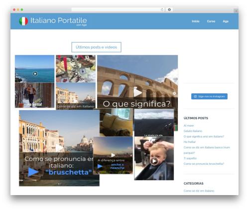 Skadi - Creative Multi-Purpose WordPress Theme WordPress theme design - italianoportatile.com