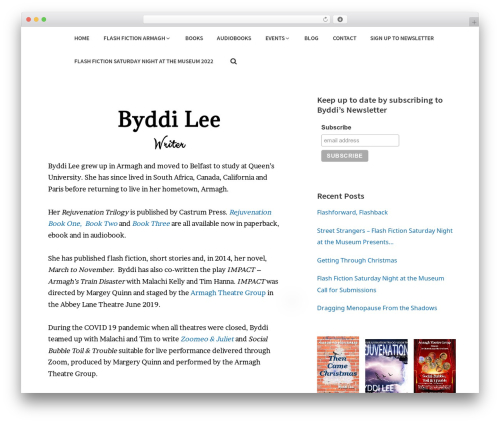 Stratum WordPress theme - byddilee.com