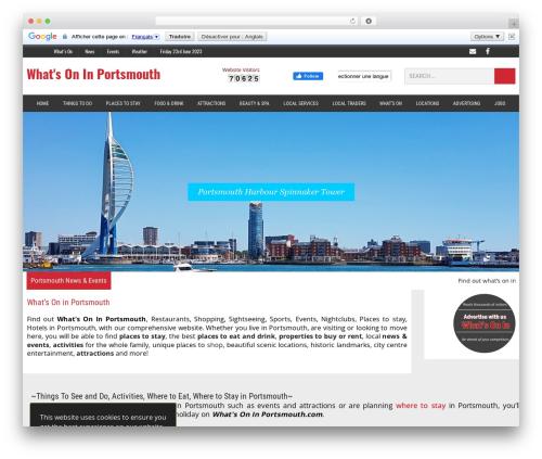 WhatsOnIn WordPress theme - whatsoninportsmouth.com