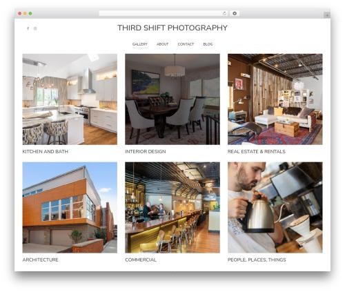 WordPress theme Pinhole - thirdshiftphotos.com