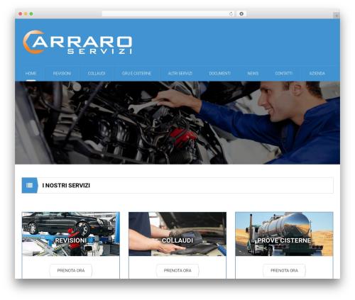 Best WordPress template Mechanic - carraroservizi.it