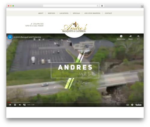 Best WordPress template Royal Event - andresbanquet.com
