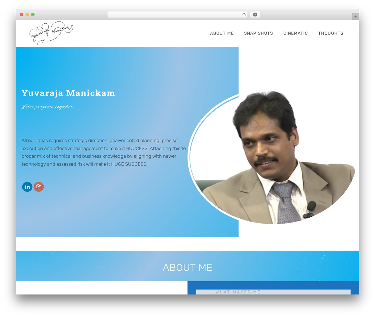 Deep WordPress template - yuvawin.com