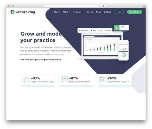 Divi theme WordPress - growthplug.com