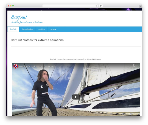 Health-Center-Lite template WordPress free - barfsuit.com