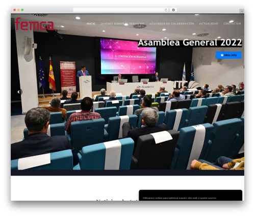 Theme WordPress Movedo - femca.info