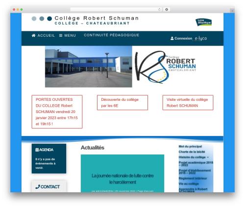 WordPress template Divi - rschuman.loire-atlantique.e-lyco.fr