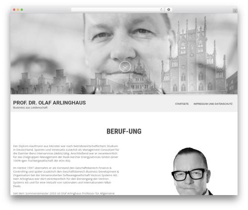 Best WordPress theme SKT White - arlinghaus.biz
