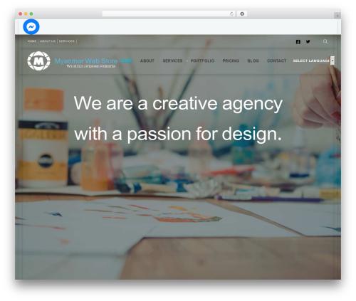 Deep WordPress shopping theme - myanmarwebstore.com