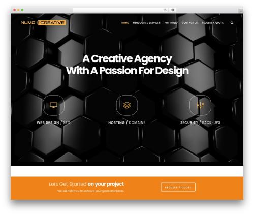 EasyWeb WordPress theme - numocreativedesigns.com