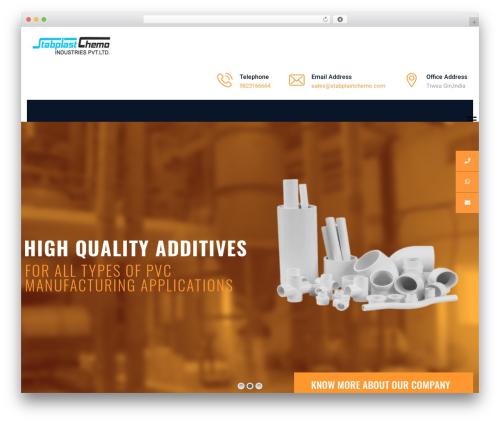 IndustCO premium WordPress theme - stabplastchemo.com