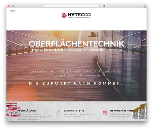 Theme WordPress Knox - hytecco.com