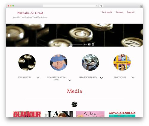 WordPress widgets-for-siteorigin-pro plugin - nathaliedegraaf.nl