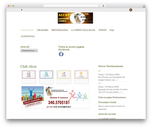ZenLife best WordPress theme - alcatlivorno.it