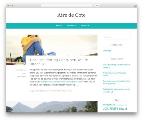 Dara WP template - aire-de-cote.com