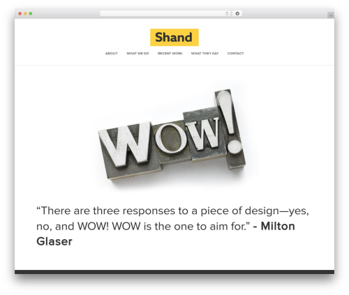 Dynamik-Gen WordPress theme - shandmedia.com