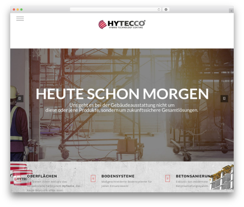 Knox WordPress theme - hytecco.info