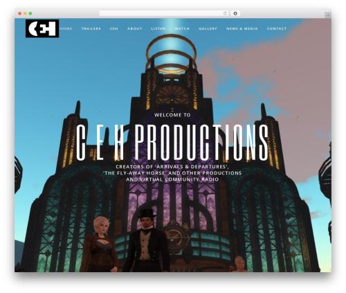 Silverscreen WordPress theme - cehproductions.com
